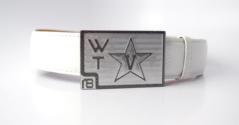 Custom Vanderbilt Golf Belt