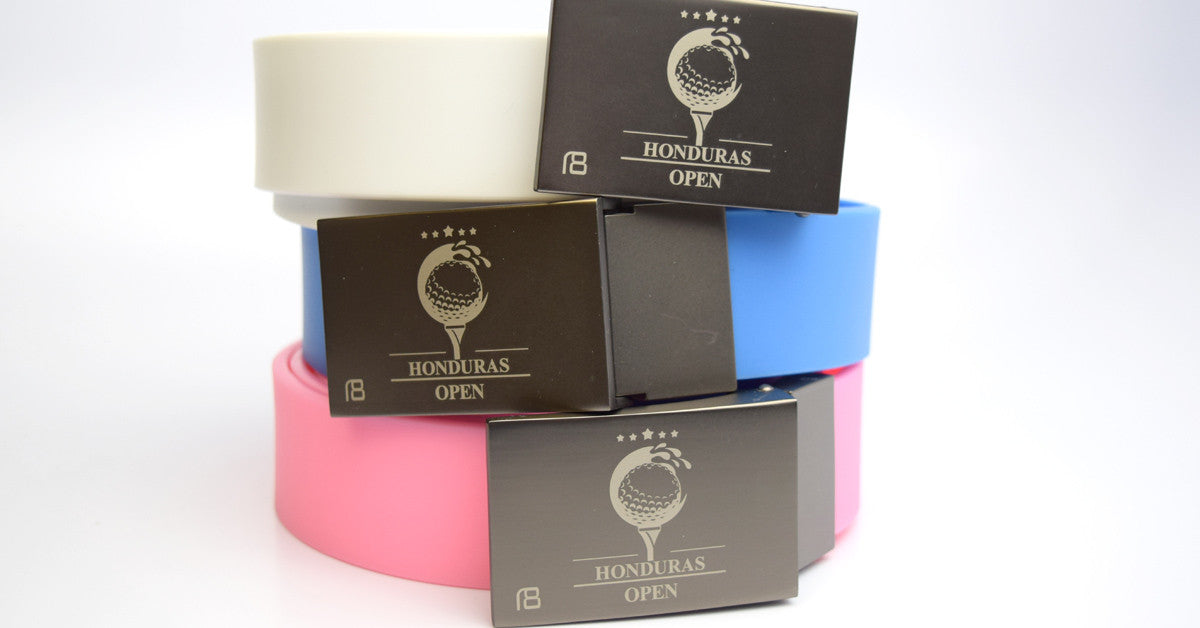 Golf Belts in various colors