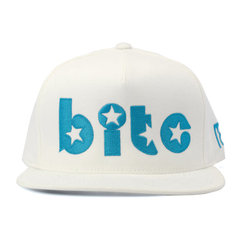 NXT18 Golf - BITE - Flat Bill Cap - White