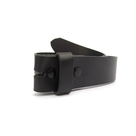 NXT18 Golf Black Leather Snap Belt