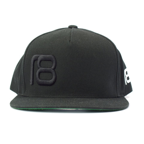 NXT18 Golf - 18 Flat Bill Cap - Black
