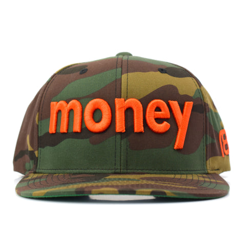 NXT18 Golf - MONEY - Flat Bill Cap - Camouflage