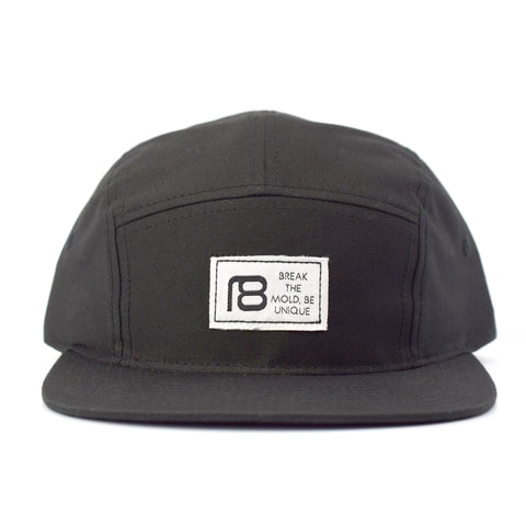 NXT18 Golf Be Unique - 5 Panel Hat - Black