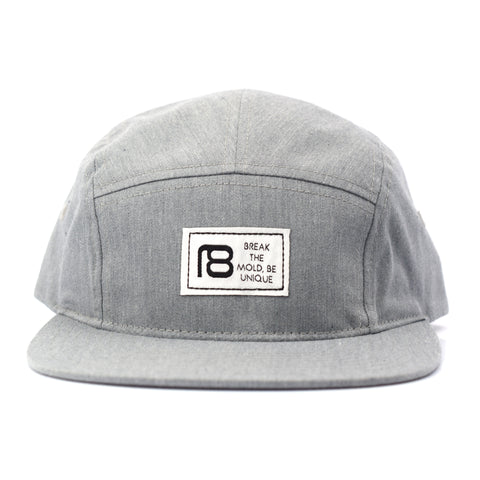 NXT18 Golf Be Unique - 5 Panel Hat - Gray