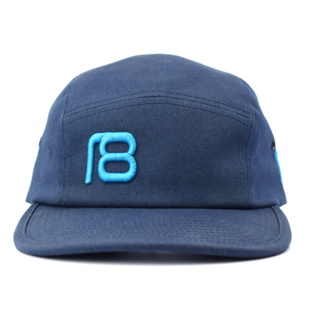 NXT18 Golf Logo 5 Panel - Navy / Teal