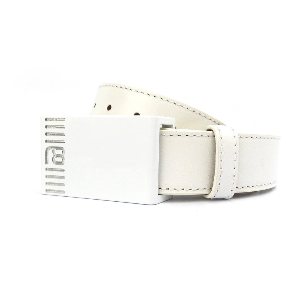 NXT18 Golf Dash Belt - White