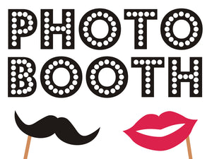 Photo Booth Rentals, Party Rentals, Weddings