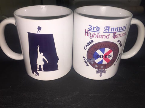 2018 Highland games CoffeeMug - Titan Magic & Brain Busters Escape Rooms