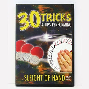 30 Tricks and Tips with Sleight of Hand