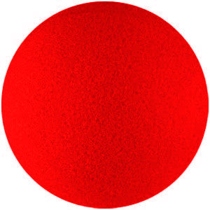 "1"" Red Sponge Ball - Titan Magic & Brain Busters Escape Rooms"