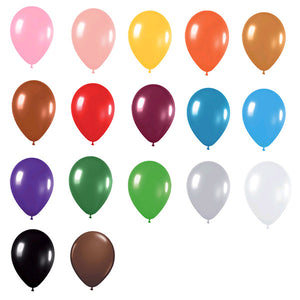 Standard 12 inch Balloons (Solid Color)