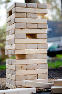 Giant Jenga - Titan Magic & Brain Busters Escape Rooms