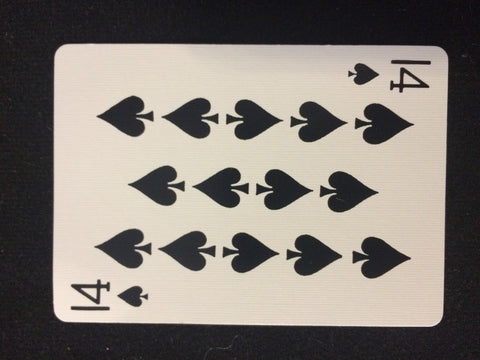 Bicycle 14 of Spades