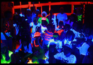 Black Light Party Upgrade or Rentals