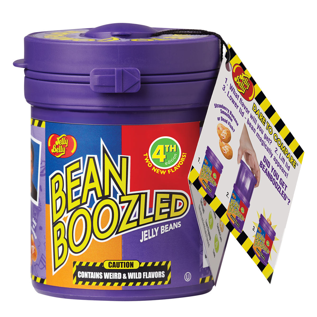 Bean Boozled Mystery Bean Dispenser - Titan Magic & Brain Busters Escape Rooms