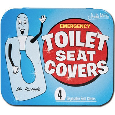 Emergency Toilet Seat Covers - Titan Magic & Brain Busters Escape Rooms
