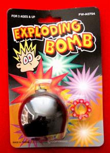 Exploding Joke Bomb - Titan Magic & Brain Busters Escape Rooms