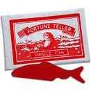 12 Fortune Teller Fish Kids Party Goody Loot Bag Carnival Favor Trick Toy Supply