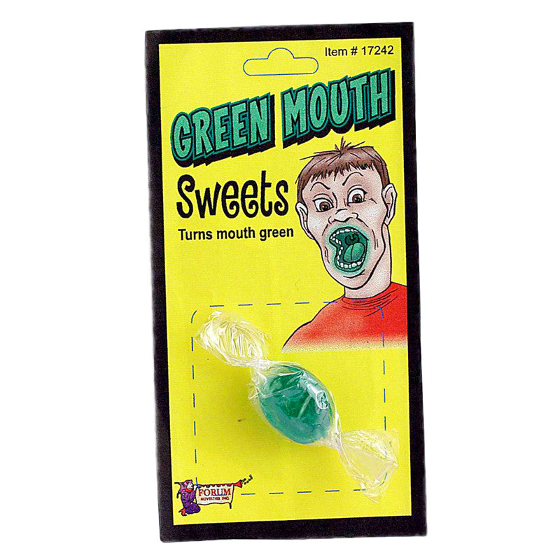 Green Mouth Candy - Titan Magic & Brain Busters Escape Rooms