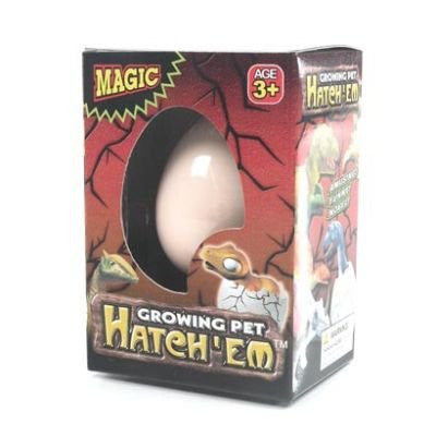 Hatch'em Dino Egg - Titan Magic & Brain Busters Escape Rooms