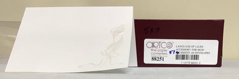Artco Announcements 5 x 7 Invitation Cards