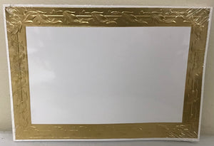 Golden Leaf 4 3/4 x 6 3/4 Panel Cards
