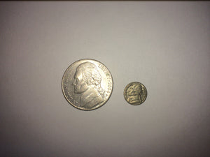 Mini 5 Cent Coin