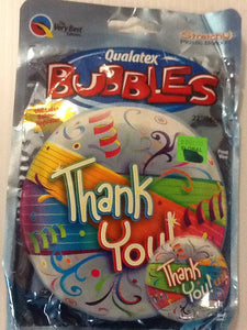 """Thank you"" Party balloon - Titan Magic & Brain Busters Escape Rooms"