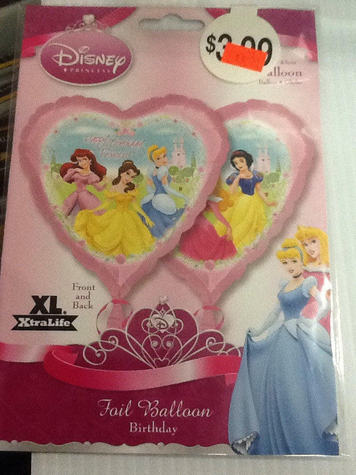 Disney princess balloon w