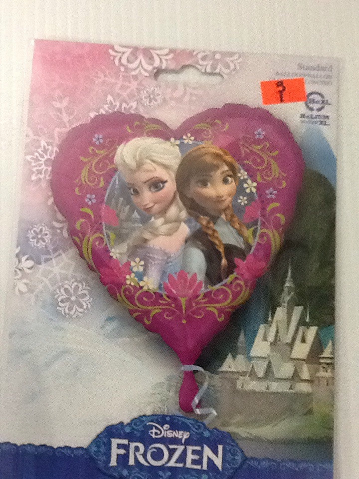 Frozen heart shape balloon - Titan Magic & Brain Busters Escape Rooms