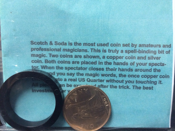 Scotch and Soda (English Penny)