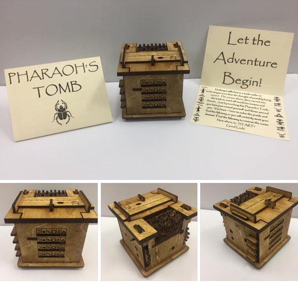 Pharaohs Tomb Escape Room in a Box