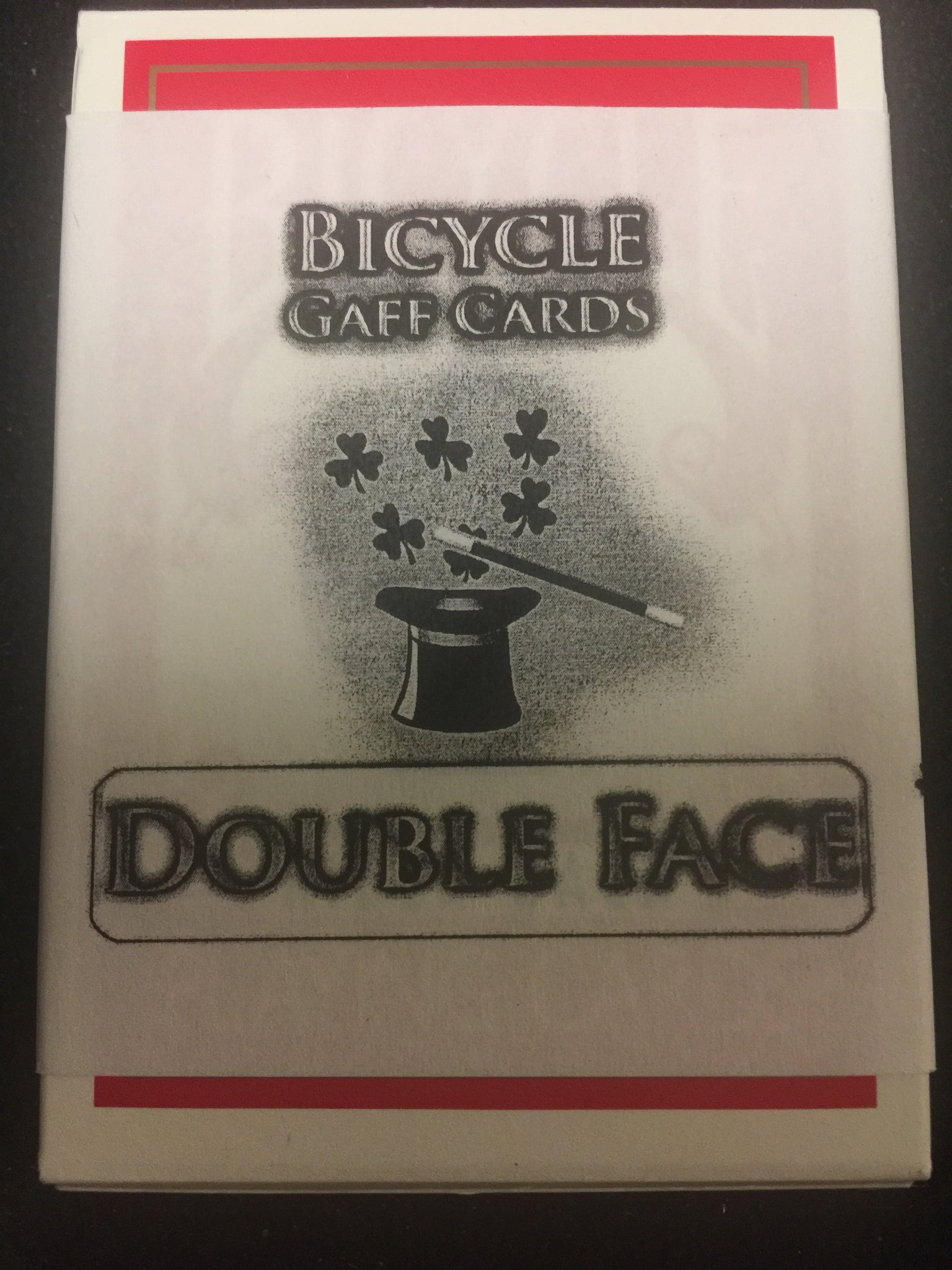 Bicycle Double Face Gaff cards