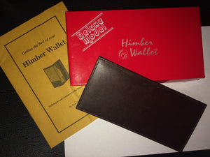 Himber Wallet Deluxe Model - Titan Magic & Brain Busters Escape Rooms