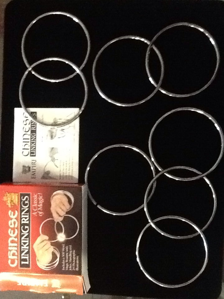 4inch linking rings - Titan Magic & Brain Busters Escape Rooms