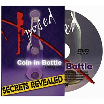 Coin in Bottle Secrets Revealed - Titan Magic & Brain Busters Escape Rooms