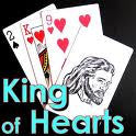 King Of Hearts Bridge Size