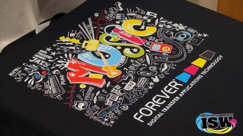 T shirts Printed ( Laser Transfer 2 part)