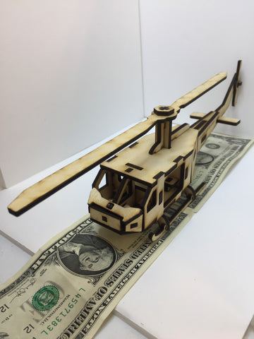 Wooden  Helicopter Kit