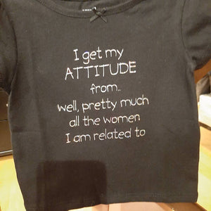 Toddler Shirt (Attitude) - Titan Magic & Brain Busters Escape Rooms