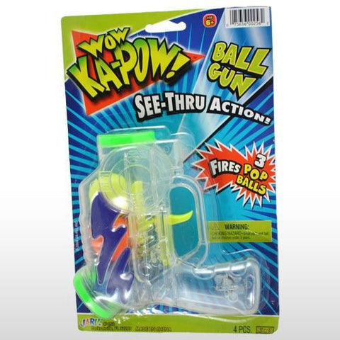 WOW KaPow Ball Gun - Titan Magic & Brain Busters Escape Rooms