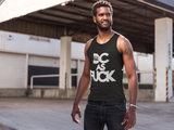 DC AS F*CK Black Tank Top
