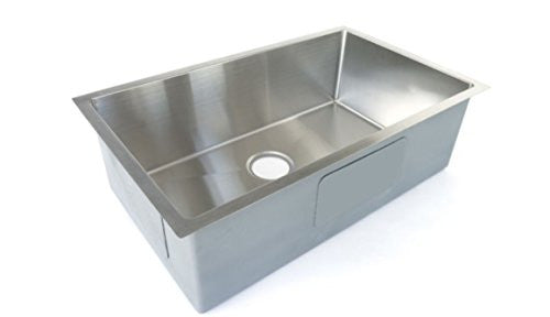 Starstar 32 X 19 Starstar Kitchen Sink Single Bowl Undermount 304 Stainless  Steel 16 Gauge