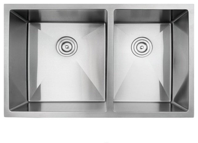 Stainless Steel Kitchen Sink on stainless steel undermount double sink, undermount stainless steel apron front farmhouse sink, 60 40 kitchen sink, 60 40 38 stainless sink,