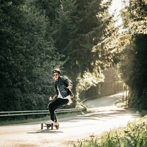 Electric Skateboard for Beginners - Tip #6: Body position