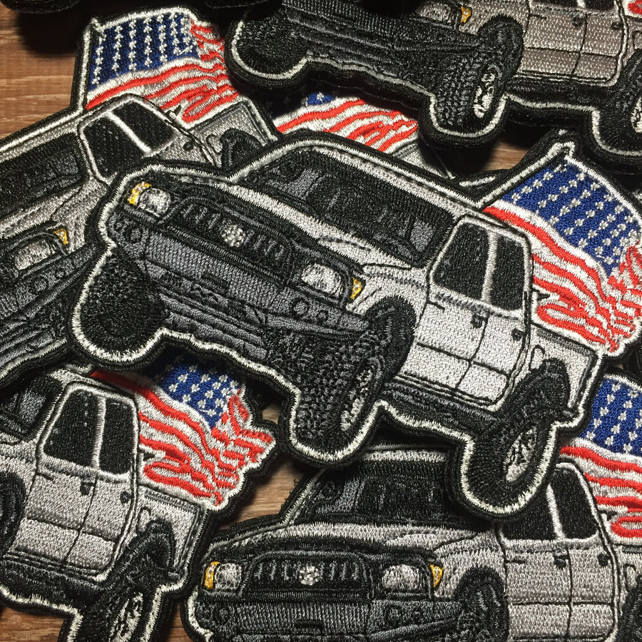 'Merica Tacoma V3 Patch