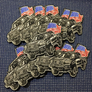 'Merica Tacoma patch - Limited Edition