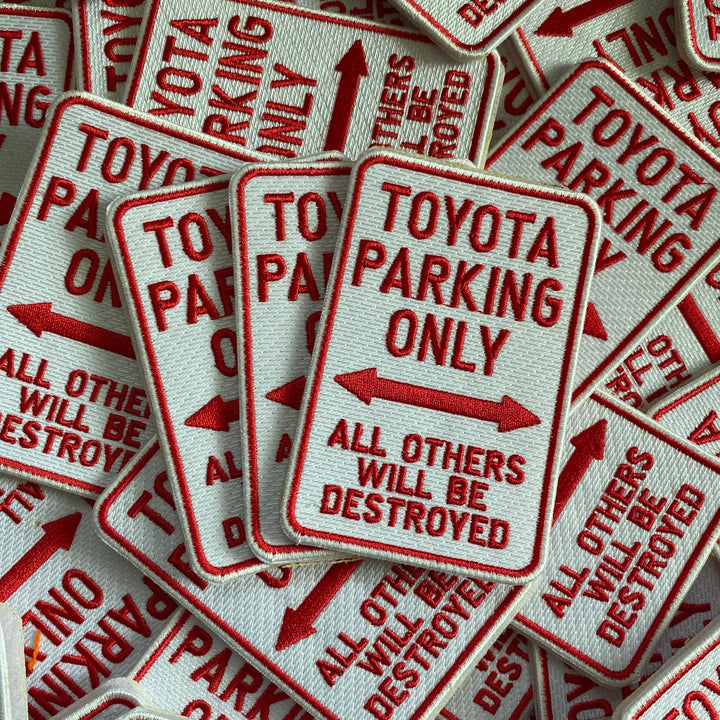 Toyota Parking Only - Patch