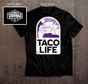 Taco Life T-shirt Group Buy