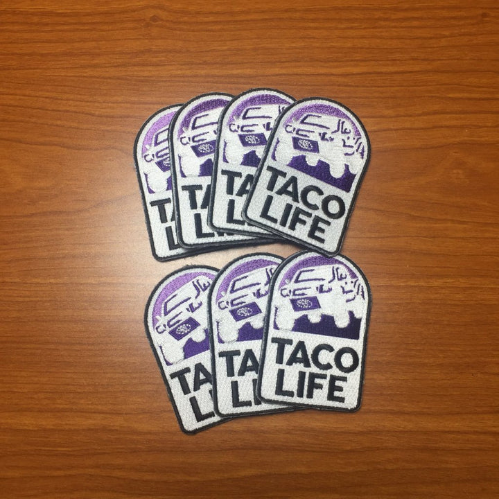 Taco Life patch - Limited drop!